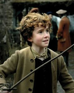 Hamish played by Roderick Gilkison - 11 years old.