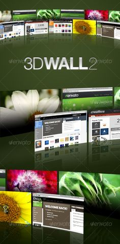 #3D Wall 2 - Miscellaneous #Web Elements Download here: https://graphicriver.net/item/3d-wall-2/40756?ref=alena994