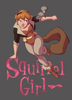 The Unbeatable Squirrel Girl by Yunyin.deviantart.com on @DeviantArt