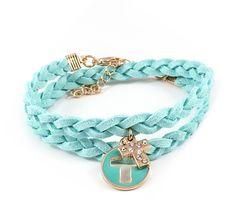 Turquoise Cross Bracelet on Emma Stine Limited