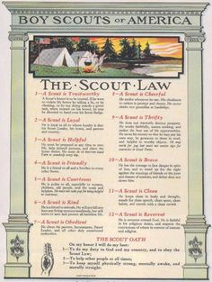 Scout Law & Oath - per my findings - all CUB scouts will need to know this… Boy Scout Law, Cub Scouts Wolf, Tiger Scouts, Girl Scouts, Scout Leader, Eagle Scout Ceremony, Cub Scout Activities, Wood Badge, Scout Camping
