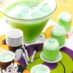 Lemon Lime Punch Recipe st patricks day