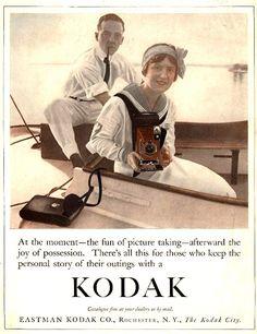 Vintage Kodak Ad - 1913