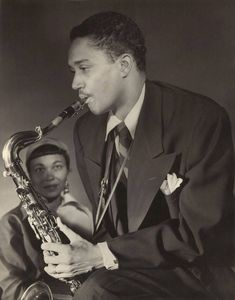 Wardell Gray (and his wife, Dorothy. cira. 1949)