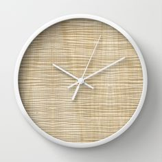 Curly Maple Wood Wall Clock