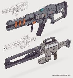 A Male Reader X VariousCharacter Characters from books to anime to … Anime Weapons, Sci Fi Weapons, Weapon Concept Art, Weapons Guns, Fantasy Weapons, Sci Fi Fantasy, Cyberpunk, Future Weapons, Future Soldier