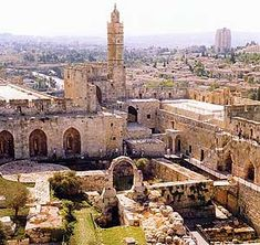 *JERUSALEM ~ Citadel, Jerusalem today.