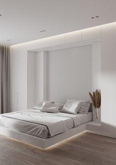 Modern Luxury Bedroom, Luxury Modern Homes, Modern Bedroom Design, Home Room Design, Luxurious Bedrooms, Bed Design, Home Interior Design, House Design, Bedroom Closet Design