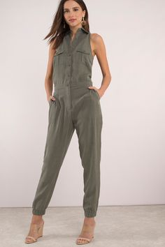 Looking for the Taylor Olive Jumpsuit? Olive Jumpsuit, Mother Daughter Matching Outfits, Modelista, Fur Clothing, Strapless Jumpsuit, Jumpsuit Outfit, Androgynous Fashion, Playsuit Romper, Jumpsuits For Women