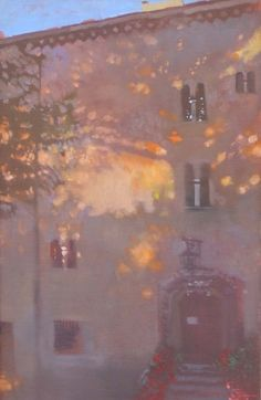 Bernie Fuchs - Before Sunset oil on linen Art And Illustration, Fuchs Illustration, Nocturne, Landscape Artwork, Oil Painting Abstract, Art Studies, Painting Techniques, Love Art, Painting Inspiration