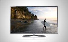 Descubre el futuro de Smart TV con las funciones de reconocimiento facial, reconocimiento por voz y control de movimiento http://www.doferta.com/samsung-smart-tv-ue40es7000-full-hd-3d-+-2-gafas-3d-activas.html