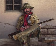 The Fort Provisioner by Joe Velazquez was selected as a Finalist in the March 2014 BoldBrush Painting Competition.