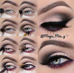 Glamour Eye #glamoureye #glamoureyemakeup #eotd #wingedliner #eyemakeuptechnique