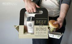 mobile fast food by Bernd Karlsboeck, via Behance