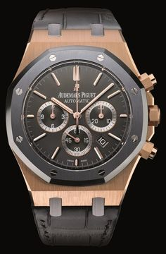 ROYAL OAK LEO MESSI PINK GOLD, Audemars Piguet Timepieces and Luxury Watches on Presentwatch