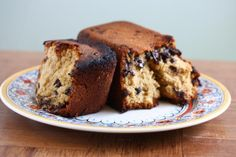 brown sugar chocolate chip loaf cake,  it's a mouthful i most certainly want to make my mouth full