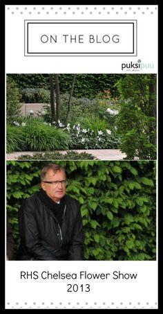 Inspiroivia puutarhoja - RHS Chelsea Flower Show 2013! Lue täältä: http://www.puksipuu.fi/puutarhasuunnittelu_pihasuunnittelu/Puutarhasuunnittelu_Puksipuu/Merkinnat/2013/6/1_RHS_Chelsea_Flower_Show_2013.html