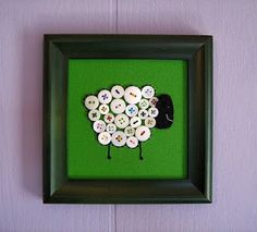 Post of button crafts!