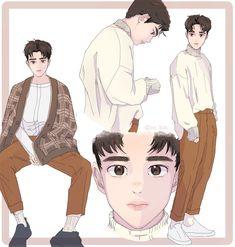 Cre: the owner/as logo Kyungsoo, Chanyeol, Kaisoo, Kokobop Exo, Exo For Life, Exo Anime, Anime Muslim, Exo Fan Art, Best Movie Posters
