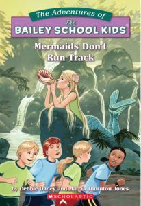 Mermaids Don't Run Track by Debbie Dadey and Marcia Jones | Halloween Books for Kids by Mackenzie Butts | Book Reviews and Writing Tips