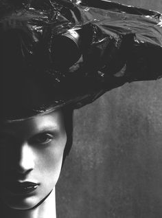 Kristen McNemamy by Steven Meisel for VOGUE Italia.
