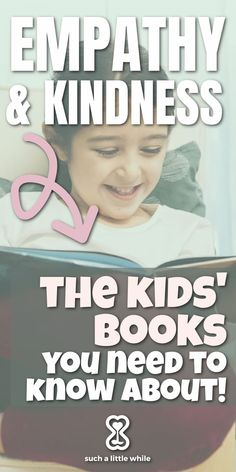 Children's books are a critical way to instill life lessons with positive parenting. Learn top picks for teaching kids about empathy and kindness... all recommendations from a seasoned elementary school counselor! #teachingempathytokids #kidsbooks #booksaboutkindness #empathylessons #elementaryschoolcounseling Elementary School Counselor, School Counseling, Elementary Schools, Teaching Empathy, Teaching Kids, Kids Learning, Resilience In Children, Emotional Resilience, Best Parenting Books