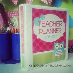 Teacher and Lesson Planners, created for a teacher by a teacher