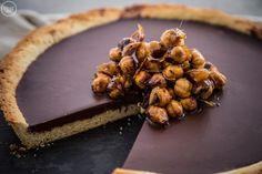Νηστίσιμη τάρτα σοκολάτας με ταχίνι - madameginger.com