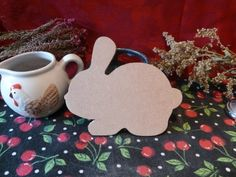 Wooden Rabbit shape 1 | Woodshapes