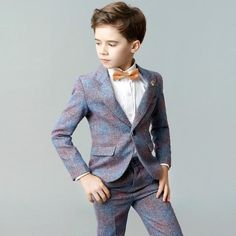 Boutique Pants Vest Shirts Bowtie) Handsome Toddler Flower Boys Wedding Show/Performance Formal Suit Sets Boys Prom Suits, Kids Wedding Suits, Wedding Show, Wedding With Kids, A Line Bridal Gowns, Wedding Dress Organza, Wedding Gowns, Blazer For Boys, Formal Suits