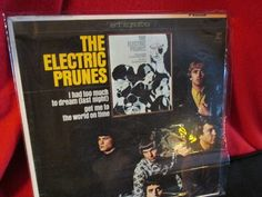 """Misprinted """"The Electric Prunes"""" LP 1967 Reprise Records by trackerjax on Etsy"""