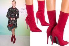 Znalezione obrazy dla zapytania white leather boots   Buty
