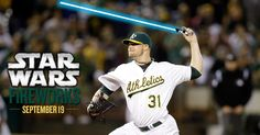 The Force will be with you on Friday, September 19. Enjoy STAR WARS Fireworks after the A's host the Phillies. www.athletics.com/fireworks