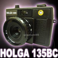 HOLGA 135BC 135 BC Plastique Objectif 35mm Photo Film Caméra LC-A+ LOMO Noir
