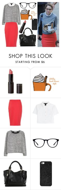 """""""Kara Danver, Supergirl"""" by book-girl-4 ❤ liked on Polyvore featuring French Connection, Marc by Marc Jacobs, MANGO, BaubleBar, WorkWear, Superhero, TV, girlpower and supergirl"""