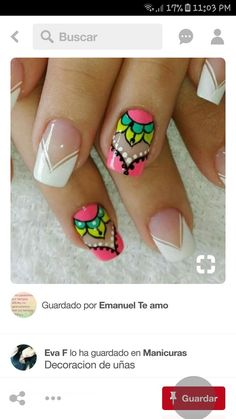French Manicures with a Modern Twist – My hair and beauty Diy Nails, Cute Nails, Pretty Nails, Fingernail Designs, Nail Art Designs, Spirit Finger, New Nail Art, Manicure And Pedicure, Nail Artist
