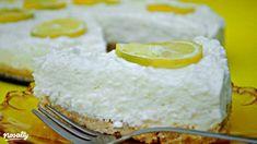 Sütés nélküli citromtorta | Nosalty My Recipes, Cake Recipes, Dessert Recipes, Cooking Recipes, Favorite Recipes, Recipies, Yummy Drinks, Yummy Food, Cold Desserts