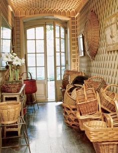 Every year I write a post on straw, wicker, and rattan and this year is no different. There is nothing better than natural fibers in the heat of summer. I've been seeing so much great vintage French wicker furniture in Paris since I've been here. It makes me wish I had a place to put […]