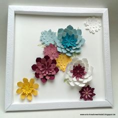 Blumen Bilderrahmen img 0196 creative paper craft cards craft and
