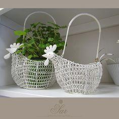 Chicken Bird, Wire Art, Wicker Baskets, Twine, Planter Pots, Ih, Birds, Gallery, Home Decor