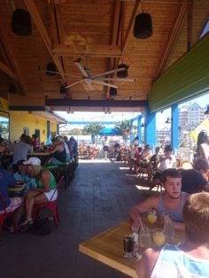 Love sitting in the open air 2nd floor bar area of Bad Monkey in Ocean City, enjoying their delicious burgers! #ocmd