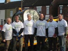 The Kier Group Board swapped suits for gardening gloves to give the garden of the Barnardo's-funded Gladstone Children's Centre in Peterborough a makeover.