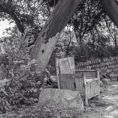 The stone? The throne? Pick your seat. (at Hosur Road)