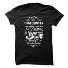 Awesome choreographer T-Shirts, Hoodies. ADD TO CART ==► https://www.sunfrog.com/No-Category/Awesome-choreographer-Shirt.html?id=41382