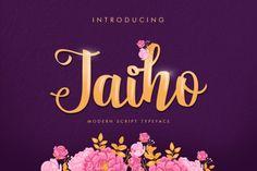 Ad; Jaiho Script Duo Font - Jaiho is a fresh, modern handwritten script font created by Khurasan.Jaiho comes in 2 variations: Jaiho Script & Jaiho Sans. $8 (scheduled via http://www.tailwindapp.com?utm_source=pinterest&utm_medium=twpin)