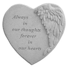 Infant Loss Memorial Garden Stone - Sweet Little Flower Sympathy Gifts and Memorials - Decorative stones add a special touch to a memorial garden. Angel Garden, Sarah's Garden, Memorial Garden Stones, Memorial Gardens, Berry, Memorial Gifts, Memorial Ideas, Memorial Plaques, Funeral Memorial