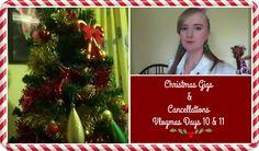 CHRISTMAS GIGS & CANCELLATIONS | VLOGMAS DAYS 10 & 11 | MoreRetroBombshell