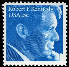 Robert F Kennedy US Postage Stamp