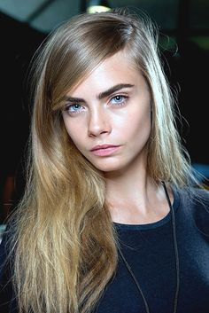 Cara Delevinge her browns are imperfection and perfection at the same time.