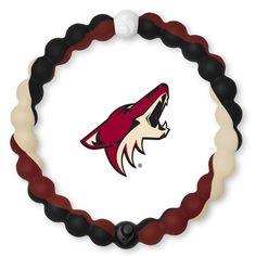 Coyotes Hockey, Arizona Coyotes, Bracelets, Live, Bracelet, Arm Bracelets, Bangle, Bangles, Anklets